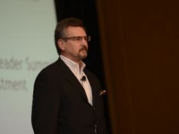 Phil Peterson giving a presentation at ReadyNation Summit 2013